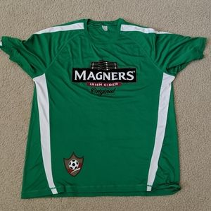 Magners Irish green t-shirt